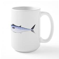King Mackerel fish Large Mug