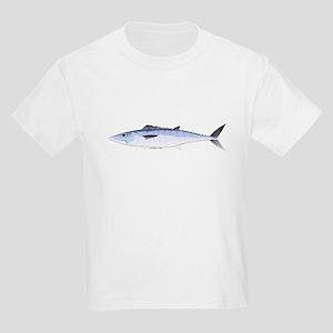 King Mackerel fish Kids Light T-Shirt
