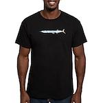 Halfbeak Ballyhoo Balao fish Men's Fitted T-Shirt