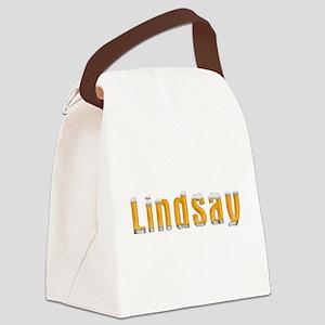Lindsay Beer Canvas Lunch Bag