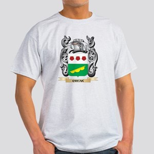 Creak Family Crest - Creak Coat of Arms T-Shirt