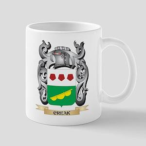 Creak Family Crest - Creak Coat of Arms Mugs