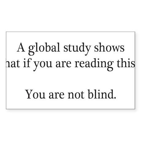 Global Study Sticker (Rectangle)