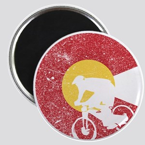 Mountain Bike Colorado Magnets