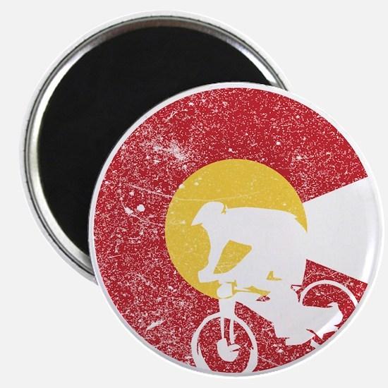 Mountain Bike Colorado Magnets