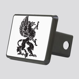 Griffin (Grunge Texture) Rectangular Hitch Cover