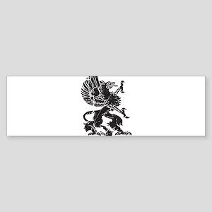Griffin (Grunge Texture) Sticker (Bumper)