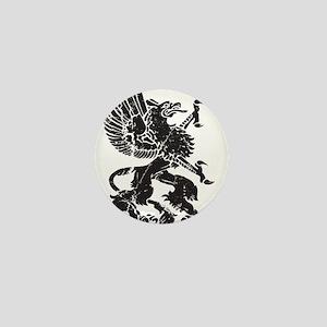 Griffin (Grunge Texture) Mini Button