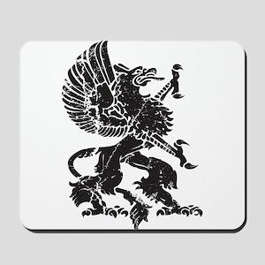 Griffin (Grunge Texture) Mousepad