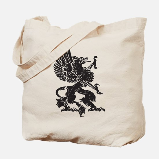 Griffin (Grunge Texture) Tote Bag