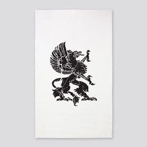 Griffin (Grunge Texture) 3'x5' Area Rug