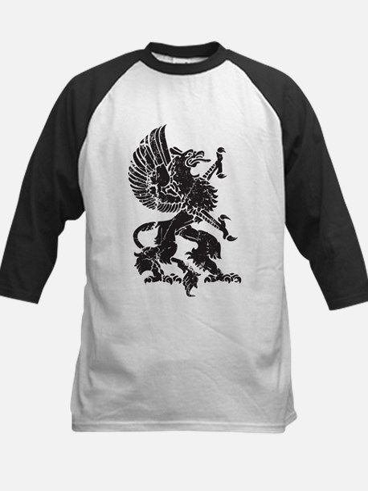 Griffin (Grunge Texture) Kids Baseball Jersey