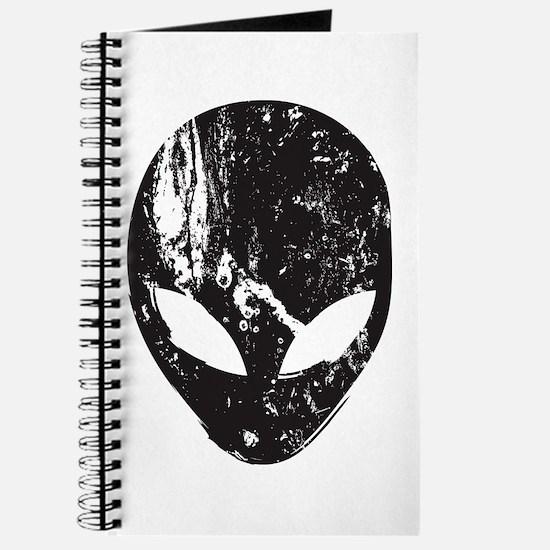 Alien Head (Grunge Texture) Journal