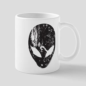 Alien Head (Grunge Texture) Mug
