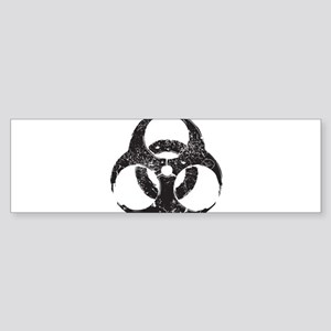 Hazardous (Grunge Texture) Sticker (Bumper)