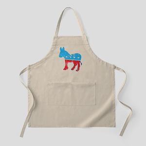 Democrat Donkey (Grunge Texture) Apron