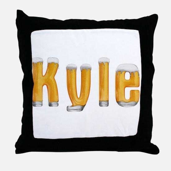 Kyle Beer Throw Pillow