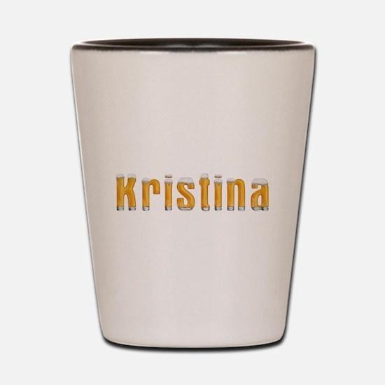 Kristina Beer Shot Glass