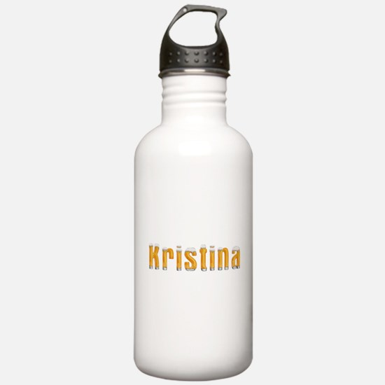 Kristina Beer Sports Water Bottle