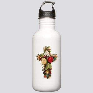 Rosy Cross Stainless Water Bottle 1.0L