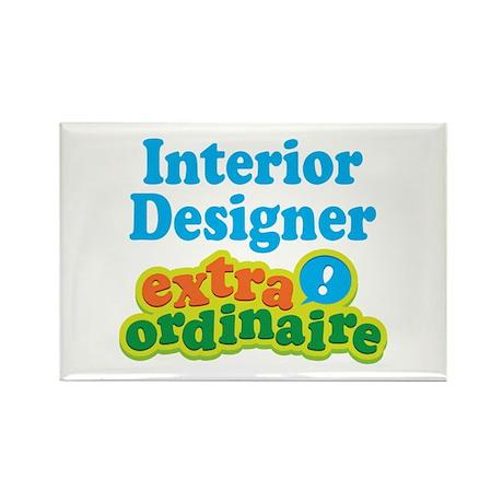 Interior Designer Extraordinaire Rectangle Magnet