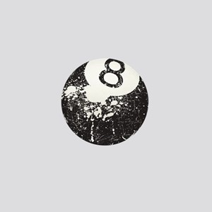 8 Ball Mini Button