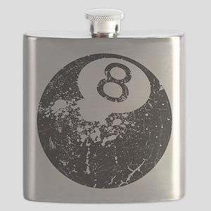 8 Ball Flask