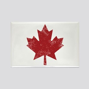 Maple Leaf Rectangle Magnet