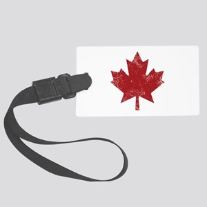 Maple Leaf Large Luggage Tag