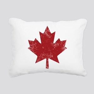 Maple Leaf Rectangular Canvas Pillow