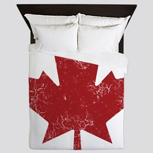 Maple Leaf Queen Duvet
