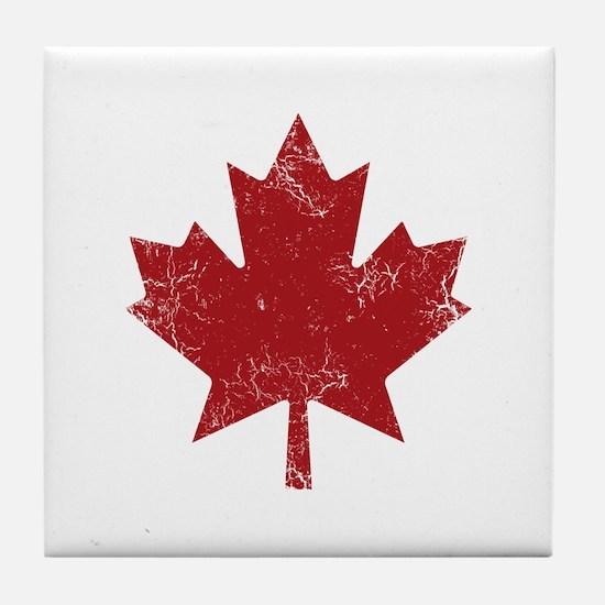 Maple Leaf Tile Coaster
