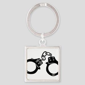 Cuffs Square Keychain