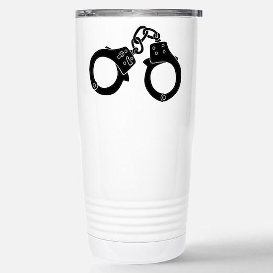 Cuffs Stainless Steel Travel Mug