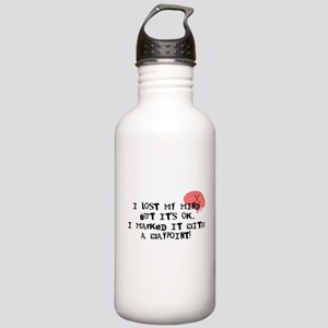 Lost My Mind... Stainless Water Bottle 1.0L