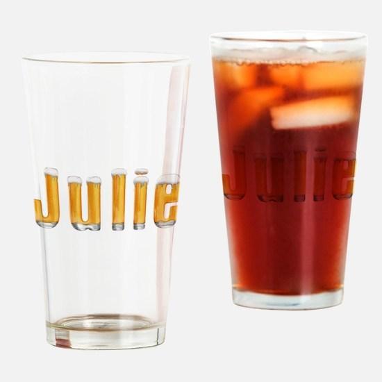 Julie Beer Drinking Glass