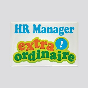HR Manager Extraordinaire Rectangle Magnet