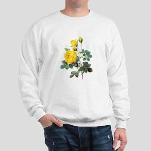 Pierre-Joseph Redoute Rose Sweatshirt