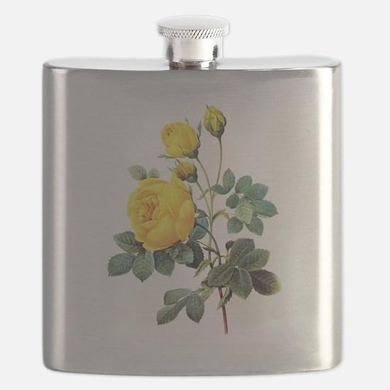 Pierre-Joseph Redoute Rose Flask