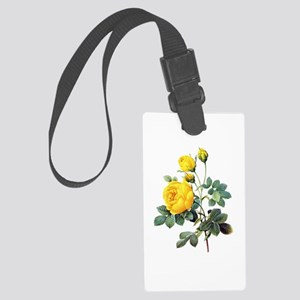 Pierre-Joseph Redoute Rose Large Luggage Tag