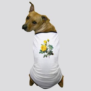 Pierre-Joseph Redoute Rose Dog T-Shirt