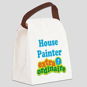 House Painter Extraordinaire Canvas Lunch Bag