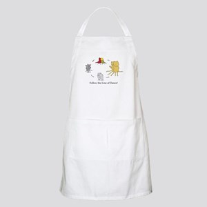 Follow the Line of Dance! Apron