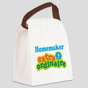 Homemaker Extraordinaire Canvas Lunch Bag