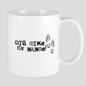Will Hike For Cache Mug