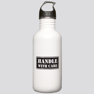 Handle With Care Stainless Water Bottle 1.0L