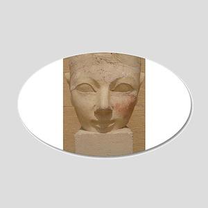 Queen Hatshepsut 20x12 Oval Wall Decal