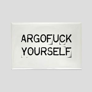Argofuck Yourself Rectangle Magnet