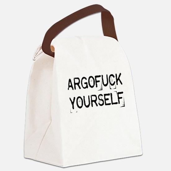 Argofuck Yourself Canvas Lunch Bag