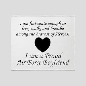 AF BF Fortunate Throw Blanket